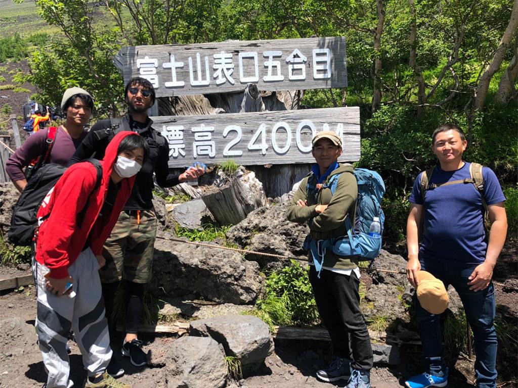 富士山研修